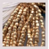 3 Cut Beads 10/0 Metallic Gold